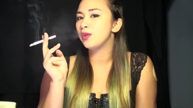 Smoking Fetish with miss Dee Nicotine, Multiples, Nicotine Patch and More!