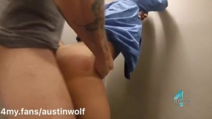 Fucking Andrea Suarez in the Stairwell: 4my.fans/austinwolf