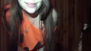 Slutty Pumpkin Girl Gets Stuffed