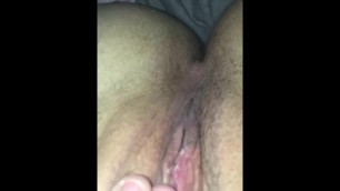 Pushing Bullet out my Tight Pussy