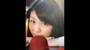 【女優 ぶっかけ】motokariya Yuika Cum Tribute【本仮屋ユイカ】4
