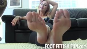 Feet Worshiping and POV Foot Fetish Videos