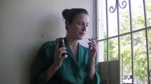 Helena Price - do you have a Smoking Fetish? Housewife Smoke Break.