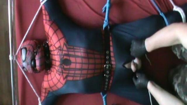 Framed Spiderman
