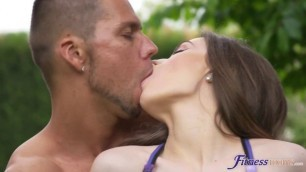 Angel Rush gets intense sex with hispanic dude hunged like a horse