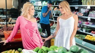 Kali Roses And Leah Lee Indulge In All The Grocery Store Samples