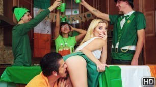 Reality Kings - Riley Star Is Feeling Festive In Pounded On St Pattys