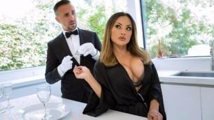 Kaylani Lei Has Fun With The Butler