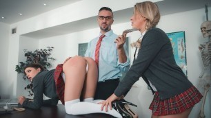 Kristen Scott Comes On The Sir Keiran's School For Anal Training Part 2