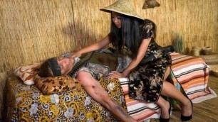 Fakehub Originals - Jureka Del Mar Puts His Hands On Her Tits And Starts Wanking His Dick