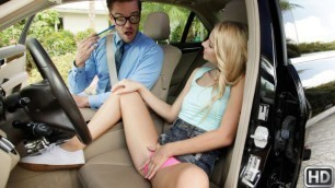 Reality Kings - Riley Star Really Sucks At Driving In Drivers Ed Suxxx