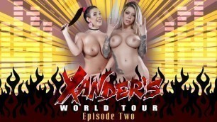 Brazzers - Brunette Angela White And Blonde Karma Rx In Xander's World Tour - Ep.2