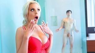 DigitalPlayground -  Nina Elle In Shower Teen Swap Episode 4