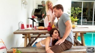 Quinn Wilde Has Been Forward To Meeting Her New Stepbrother In Cumming To The Cookout