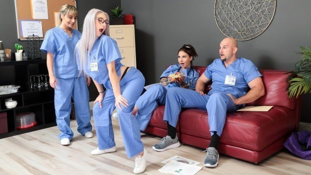 Reality Kings - Nurse Skylar Vox Looks So Innocent In Those Glasses