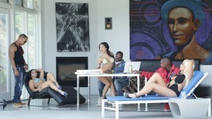 Wicked -  Holly...Would, Scene 3 Asa Akira, Bridgette B. And Lea Lexis Best Trio