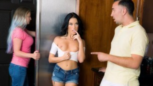 He Catches Megan Rain Masturbating With A Dildo In Summer Of Stepdad