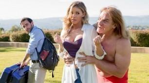 Blonde Jessa Rhodes In Meet The Fuckers: A DP XXX Parody Episode 1