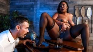 Layton Benton Relaxes In Cocktail Lounging