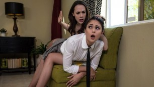 Brazzers - Ariana Marie And Her Stepmom Chanel Preston Preppies In Pantyhose Part 1