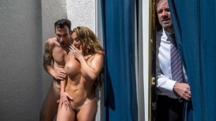 Reality Kings - Sex With Richelle Ryan On A Balcony